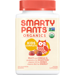 SmartyPants Vitamins Kids Complete Organic Multi 120 gummies S20790
