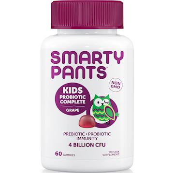 SmartyPants Vitamins Kids Probiotic Grape 60 gummies S20011
