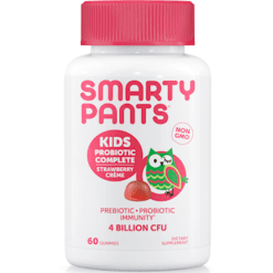 SmartyPants Vitamins Kids Probiotic Strawberry 60 gummies S20059