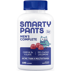 SmartyPants Vitamins Mens Complete 180 gummies S84781