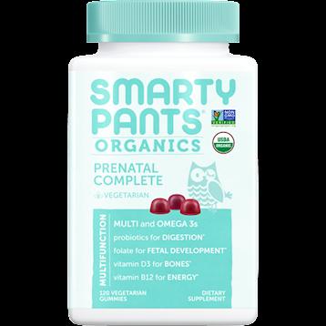 SmartyPants Vitamins Prenatal Complete Org Multi 120 gummies S20806