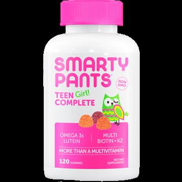 SmartyPants Vitamins Teen Girl Complete 120 gummies S20653