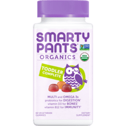 SmartyPants Vitamins Toddler Complete Org Multi 60 gummies S20875