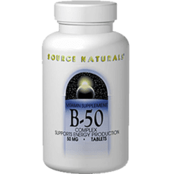Source Naturals B 50 Complex 50mg 100 tabs SN0421