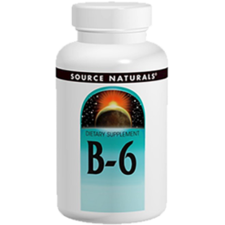 Source Naturals B 6 Timed Release 500mg 100tabs SN0416