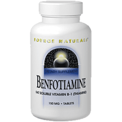 Source Naturals Benfotiamine 150 mg 120 tablets SN1907