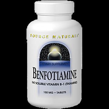 Source Naturals Benfotiamine 150 mg 120 tablets SN1907