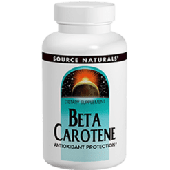 Source Naturals Beta Carotene 100 gels SN0403