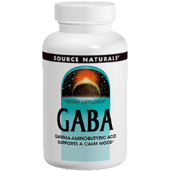 Source Naturals GABA 90 capsules SN1707