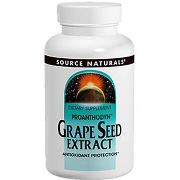 Source Naturals Grape Seed Extract 200 mg 60 capsules SN1990