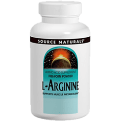 Source Naturals L Arginine 500mg 100 caps SN1687