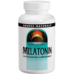 Source Naturals Melatonin 1 mg 100 tablets SN0719