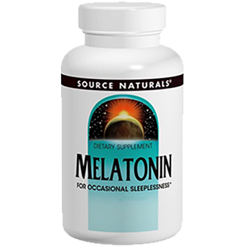 Source Naturals Melatonin 3 mg 60 tablets SN0550