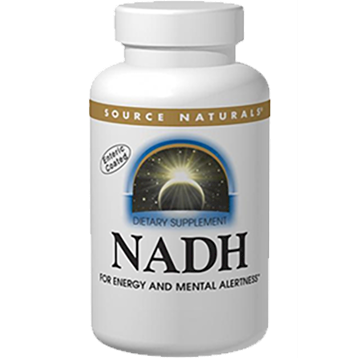 Source Naturals NADH Peppermint 20mg 20 tabs SN2149