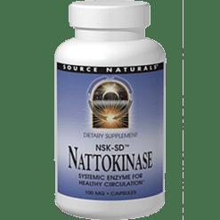 Source Naturals Nattokinase 100 mg 60 capsules SN1885