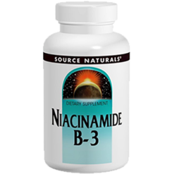 Source Naturals Niacinamide Vit B 3 1500mg TR 100 tabs SN0506