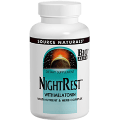 Source Naturals Nightrest with Melatonin 50 tablets SN0357