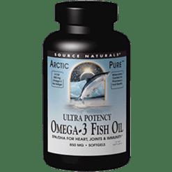 Source Naturals Ultra Potency Omega 3 Fish Oil 60gels SN2013