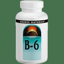 Source Naturals Vitamin B 6 50mg 250 tabs SN04127