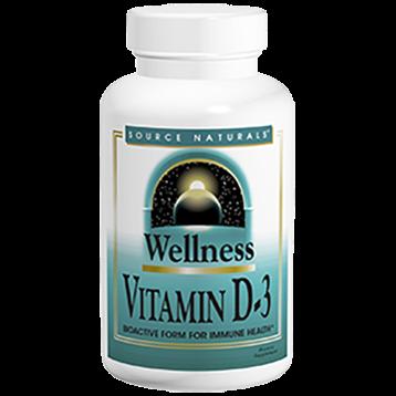 Source Naturals Vitamin D 3 2000 IU 200 caps SN2145