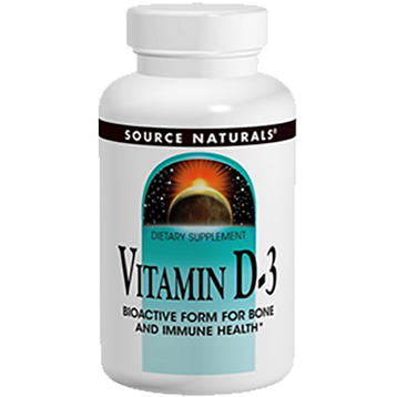 Source Naturals Vitamin D 3 5000 IU 120 caps SN2337
