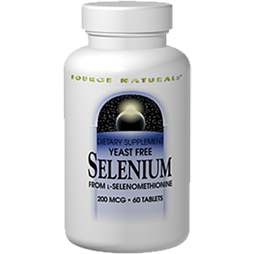 Source Naturals Yeast Free Selenium 200 mcg 60 tablets SN0922