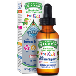 Sovereign Silver Silver Hydrosol for Kids 2 fl oz S34368