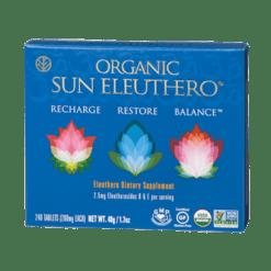 Sun Chlorella USA Organic Sun Eleuthero 240 tablets SUSG1