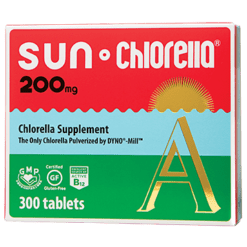 Sun Chlorella USA Sun Chlorella 200 mg 300 tablets SUA1