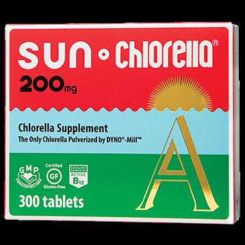 Sun Chlorella USA Sun Chlorella 200 mg 300 tablets SUA1
