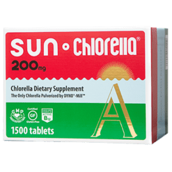 Sun Chlorella USA Sun Chlorella Econ 200 mg 1500 tablets SUA5