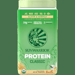 Sunwarrior Classic Protein Vanilla 750g S24158