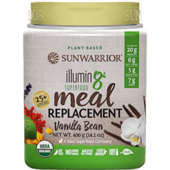 Sunwarrior Illumin8 Vanilla Bean 10 servings S24356
