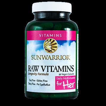 Sunwarrior Raw Vitamins Her 90 capsules S42496