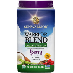 Sunwarrior Warrior Blend Berry 30 servings S24233