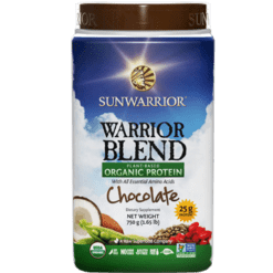 Sunwarrior Warrior Blend Chocolate 30 servings S24257