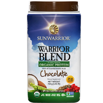 Sunwarrior Warrior Blend Chocolate 30 servings S24257