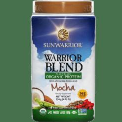 Sunwarrior Warrior Blend Mocha 30 servings S24271