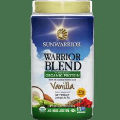 Sunwarrior Warrior Blend Vanilla 30 servings S24318