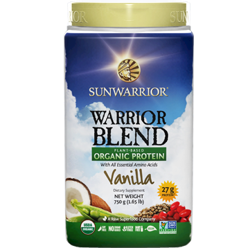 Sunwarrior Warrior Blend Vanilla 30 servings S24318