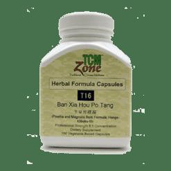 TCMzone Ban Xia Hou Po Tang 100 vegcaps T16C