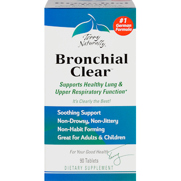 Terry Naturally Bronchial Cleartrade 90 Tablets T06093