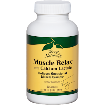Terry Naturally Muscle Relax w Calcium Lactatedagger 90 cap T62099