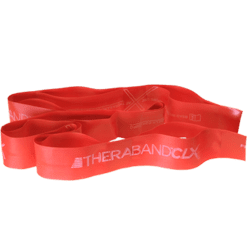 Theraband CLX 5 Pre Cut Red Medium T2715