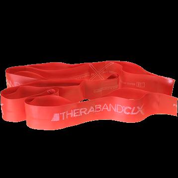 Theraband CLX 5 Pre Cut Red Medium T2715
