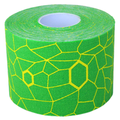 Theraband Kinesiology Tape Green Yellow 1 Roll T12749