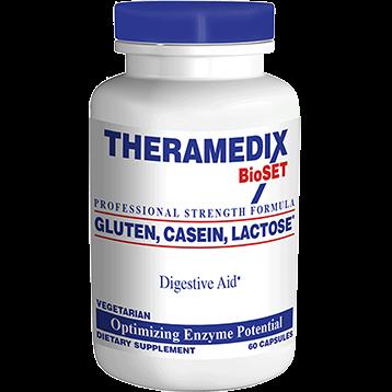 Theramedix Gluten Casein Lactose 60 caps T53992