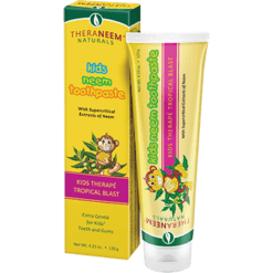 Theraneem Kids Neem Toothpaste Tropical Bl 4.23 oz TH6702