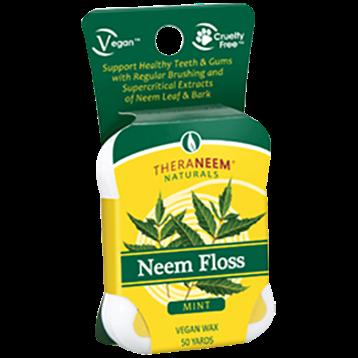 Theraneem Neem Dental Floss Mint 50 yards TH9908