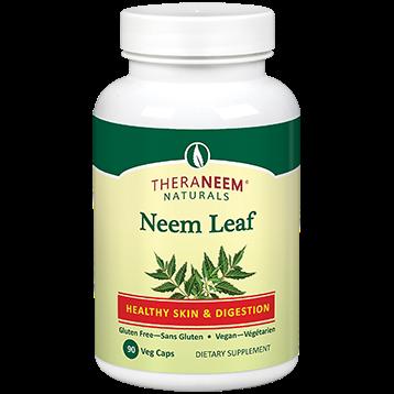 Theraneem Neem Leaf Vegetarian Capsules 90 TH0048